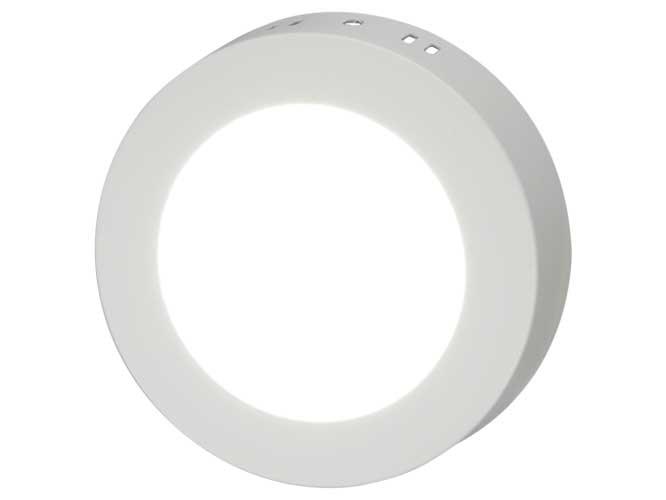 luminaria led megaluz llp015, s11w09eb, 9w, 630lm de iluminación, diseño circular, para empotrar, fácil instalación, ahorro de energía