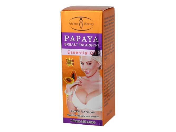 aceite esencial de papaya ac226-2, reafirmante de busto