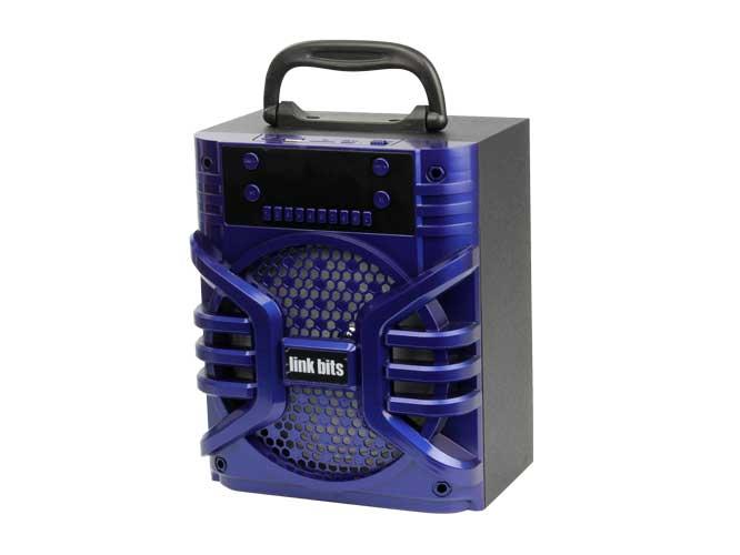 BOCINA.VA617TD, bluetooth, modo de alarma, radio fm, auxiliar, lector usb, micro sd, mp3