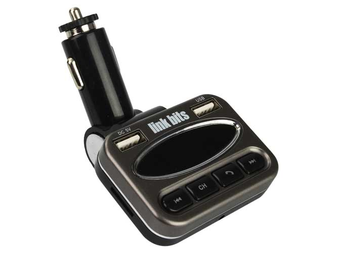 transmisor de auto link bits vt-012 tr-014bcp, bluetooth, lector usb, tf, carga smartphone, control remoto